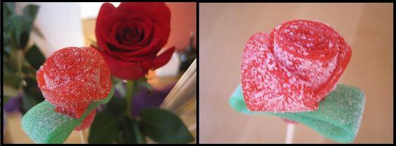 Flor de caramelo (Dulce Sant Jordi)