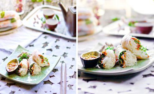 vietnamese shrimp spring rolls recipe