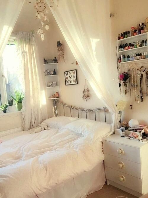 65 Cute Teenage Girl Bedroom Ideas That Will Blow Your Mind Little Girl Bedroom Ideas For Small Rooms Bedroom Design Diy Bedroom Vintage Small Room Bedroom