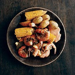 Spicy Southern Shrimp Boil