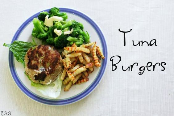 Tuna Burgers. Gluten Free.