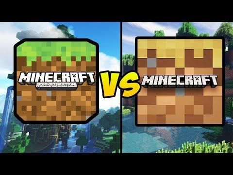 Minecraft Pocket Edition Vs Minecraft Trial Mcpe Free Minecraft