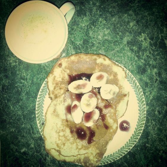 coffee & bananapancakes