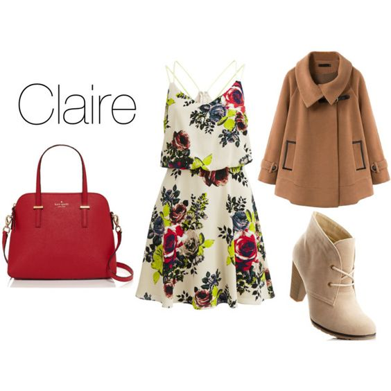 """Claire"" by thegreaterfool on Polyvore"
