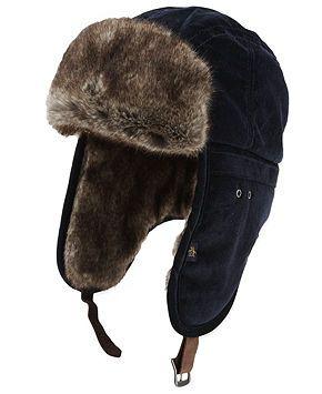 Penguin Jimmy Van Faux-Fur Trapper Hat