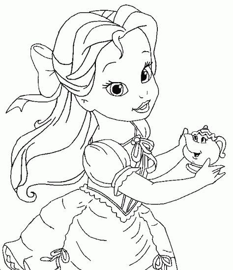 little girl princess coloring pages google search