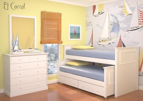 El corral muebles cama nido noche chicos camas nido - Camas nido ninos ...