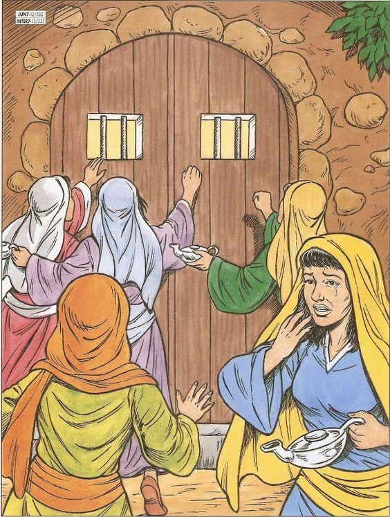 vijf wijze en dwaze meisjes 2 bijbel jezus en de