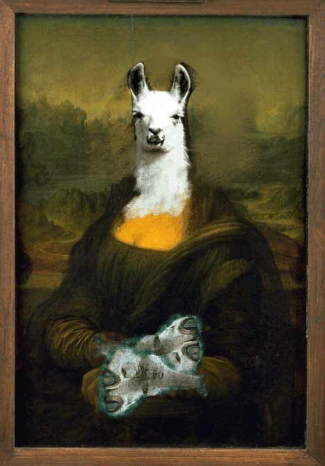 mona lisa alpaca