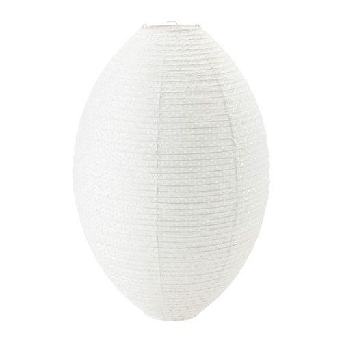 sollefte abat jour suspension ovale blanc blanc lampes en papier maison et papier. Black Bedroom Furniture Sets. Home Design Ideas