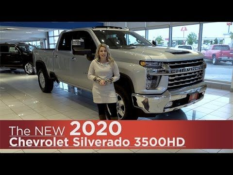 All New 2020 Chevrolet Silverado 3500hd Mpls St Cloud
