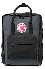 kanken graphite black