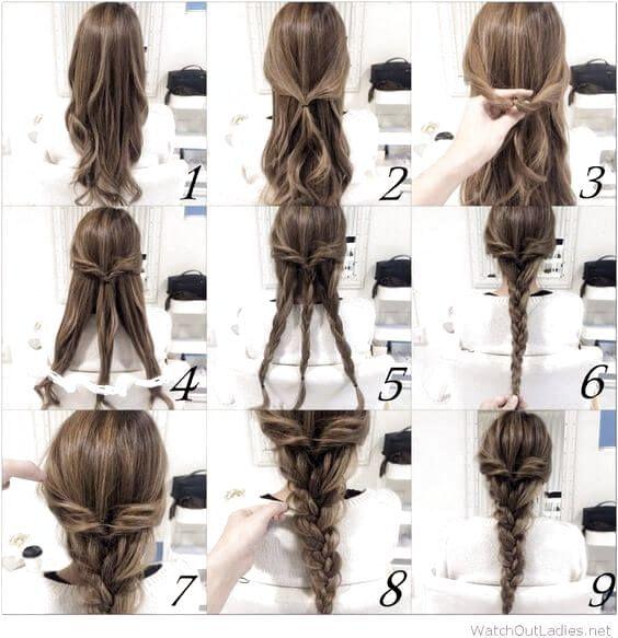 Easy Hairstyles Before Bed In 2020 Hair Styles Easy Hairstyles Hair Tutorials Easy