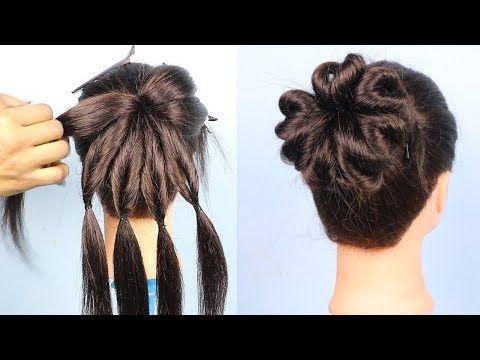 Heart Bun Hairstyle 2019 For Girls Hair Style Girl Hairstyles Best Hairstyles For Long Hair Youtube Hair Styles Easy Hairstyles Cool Hairstyles