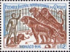 1974 The 1st International Circus Festival, Monaco