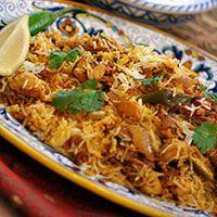 Easy chicken biryani. Ultimate comfort food. Yummy delish