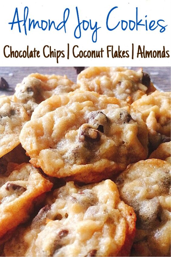 Almond Joy Crunch Cookies