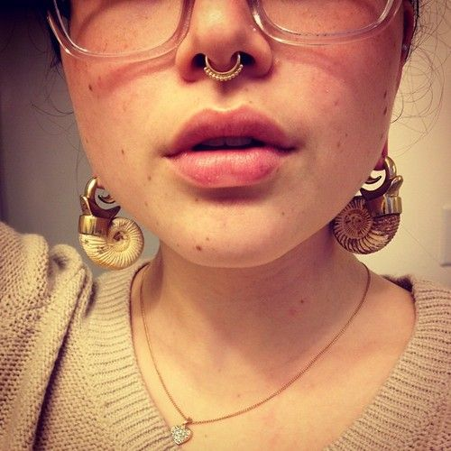 Bvla Lakshmi Septum Ring And Some Incredible Ear Weights