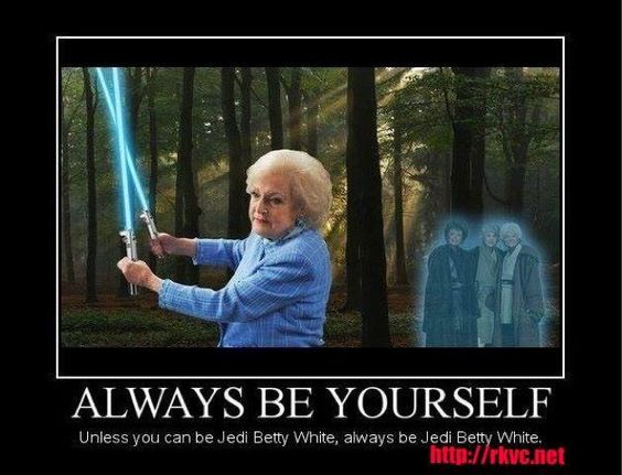 Jedi Betty White