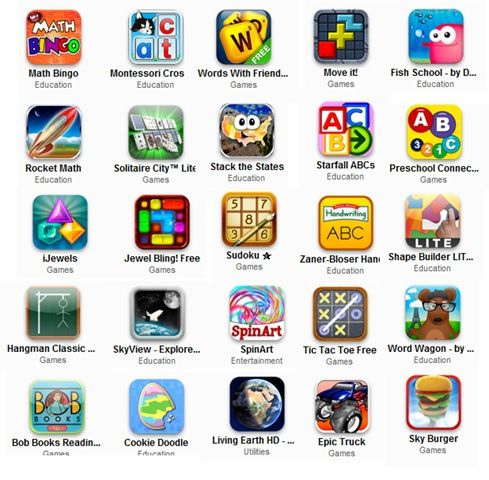 Educational apps...