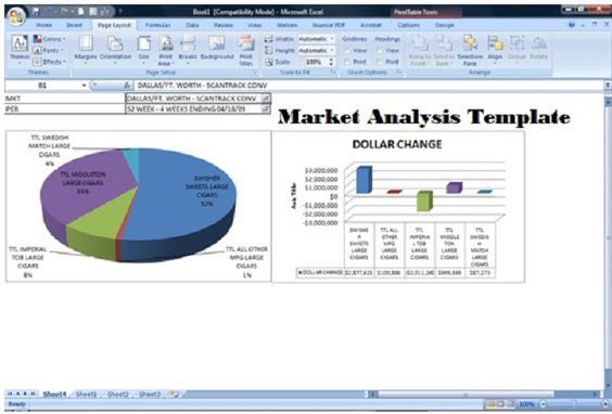 Get Marketing Analysis Template Excel XLS File u2013 Excel XLS - market analysis template