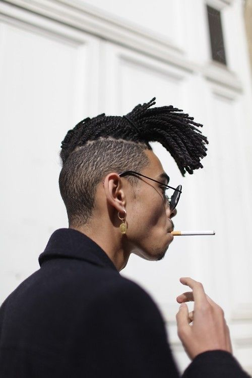 Awesome Black Men Long Haircuts 5 Cool Hairstyles With Ideas Hairstyles For Men Maxibearus