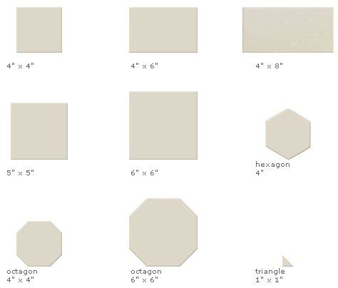 Ceramic tile in 147 colors and 26 sizes from Ann Sacks Elements Ceramic  Basics   Retro renovation  Mid century bathroom and Bathroom tiling. Ceramic tile in 147 colors and 26 sizes from Ann Sacks Elements
