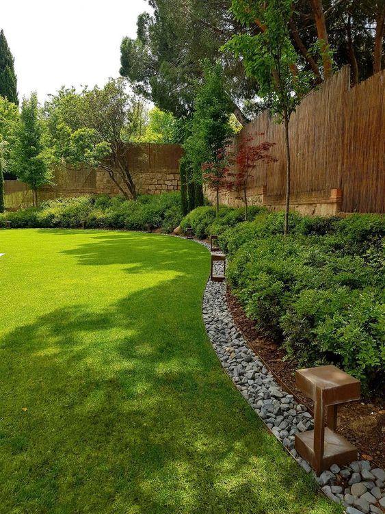40 Simple Beautiful Backyard Landscaping Ideas On A Budget Peyzaj Tasarimlari Guzel Bahceler Arka Bahce Tasarimlari