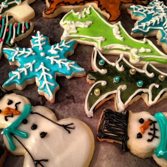 Sugar cookies from 2012