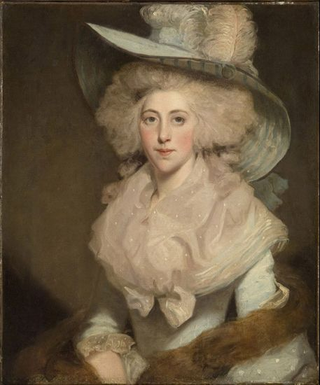 Portrait of Susanna Gyll by John Hoppner.