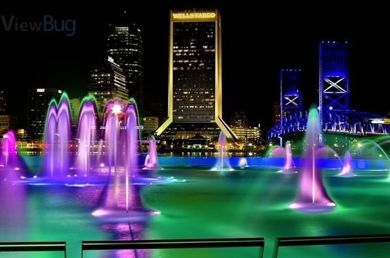 City Rainbow Fountain