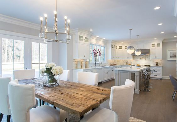 Kitchen and Dining Room. Dining room opens to kitchen. #Kitchen #DiningRoom