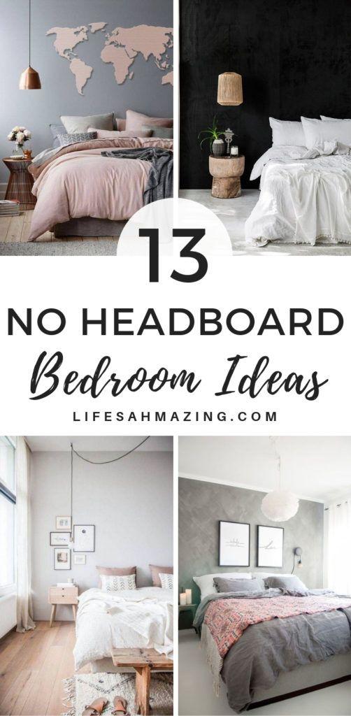 13 No Headboard Ideas For Your Bedroom