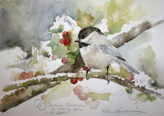 Birds in Watercolor Image Gallery