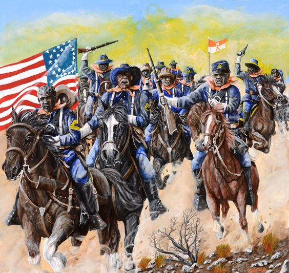 Buffalo Soldiers to The Rescue