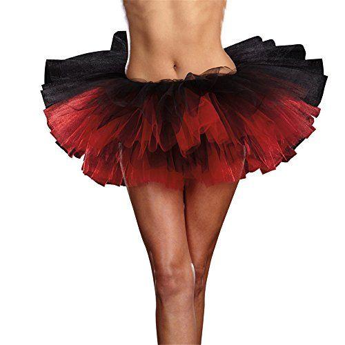 Womens 7007 Tutu Petticoat Dance Skirt Dress