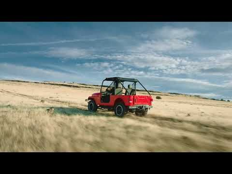 The Mahindra Roxor Is A Tiny Off Road Jeep Available For Purchase