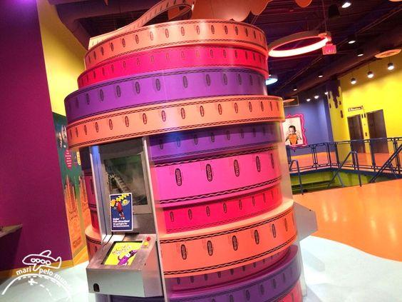 Crayola Experience no Florida Mall de Orlando