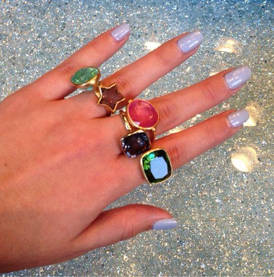 styledotcom via Instagram - Marie-Helene de Taillac Rings