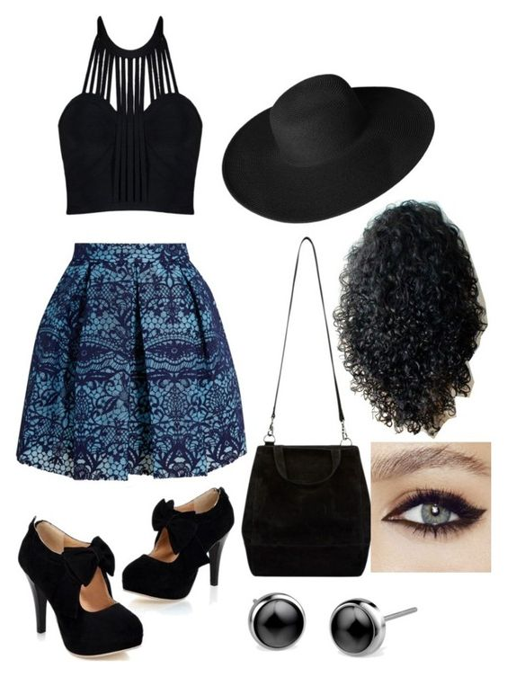 """""""Untitled #24"""" by theizzlebizzle on Polyvore featuring Posh Girl, Maje and Dorfman Pacific"""