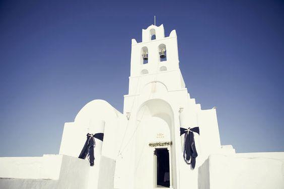 drop dead gorgeous wedding in greece