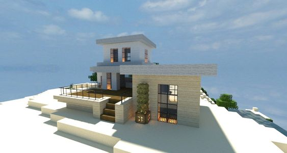 Zuhause minecraft and haus on pinterest for Minecraft haus modern