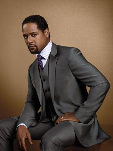 Blair Underwood shows off a two-button, 100-percent wool-vested suit, which is part of his BU Collection, exclusively at K Fashion Superstore.