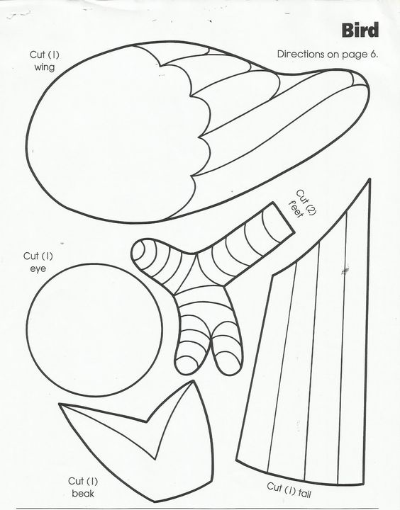 birds coloring pages for preschoolers - photo#35