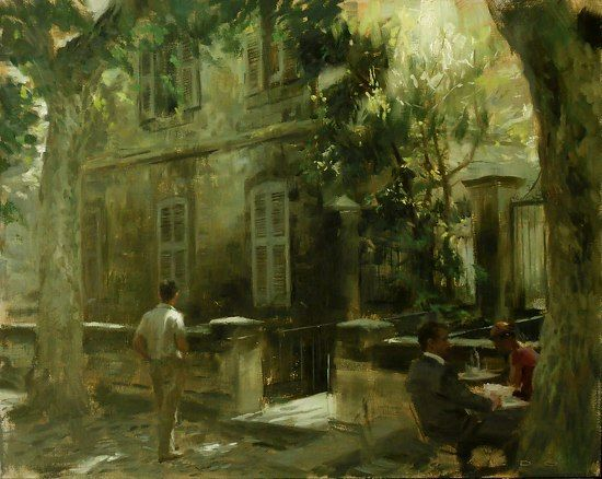 Aldo Balding - Rue de Teinturiers- Oil - Painting entry - June 2012 | BoldBrush Painting Competition: