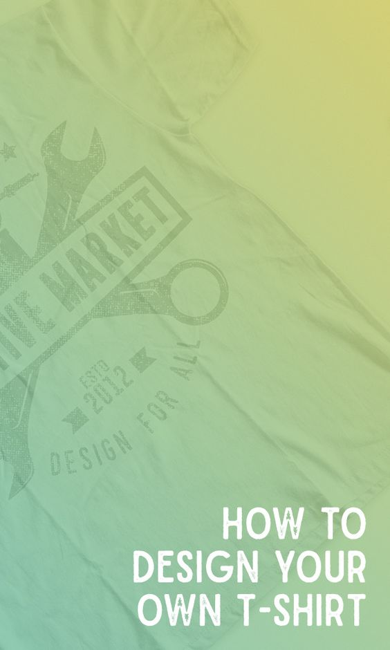 How To Design Your Own T Shirt Using Free Products
