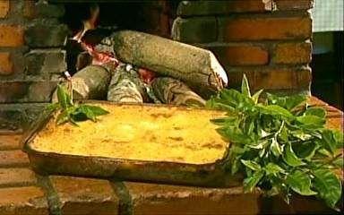 Globominas.com :: Terra de Minas - Receitas - Tortas e Bolos - NOTÍCIAS - Torta de pão de forma com ora-pro-nóbis e presunto