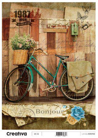 Laminas para decoupage Creativa vintage 116-211  30 x 21 cm: