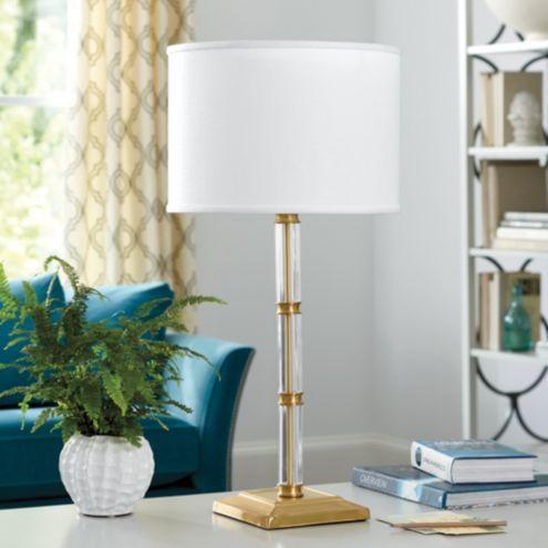 Tessa Acrylic Lamp In 2021 Lamp Acrylic Table Table Lamp