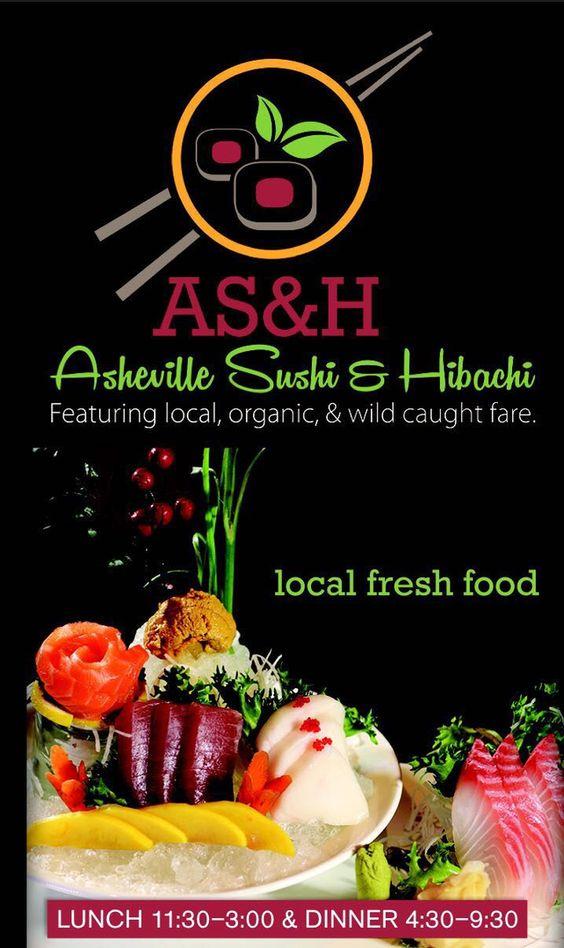 Asheville Sushi And Hibachi Menu Home Location Asian Restaurant In Asheville Best Restaurant In Ashevil Fresh Food Sushi Restaurants Chinese Restaurant